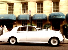 Rolls Royce wedding car hire in Kensington